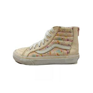 Vans Off the Wall Sk8 Hi Unicorn Glitter Girl Shoe